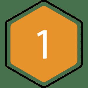 1 bijenraat icoon