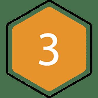 3 bijenraat icoon