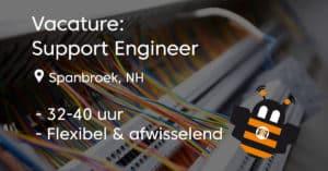 Vacature Support Engineer