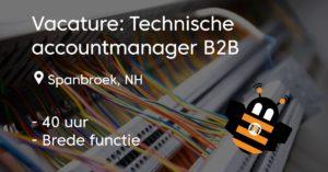 vacature technische accountmanager b2b