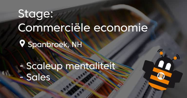 stage commerciële economie